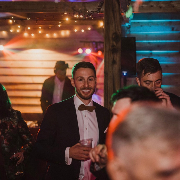 Upthorpe Wood wedding disco