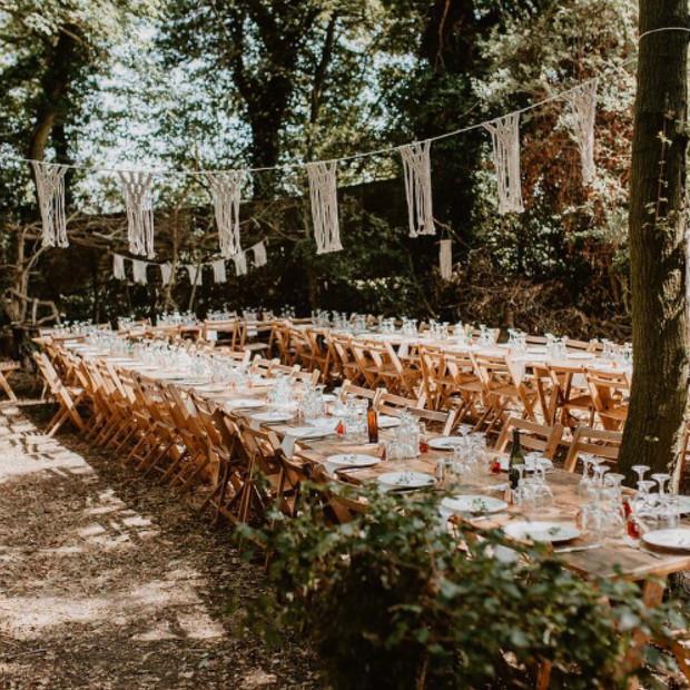 Upthorpe Wood wedding feast