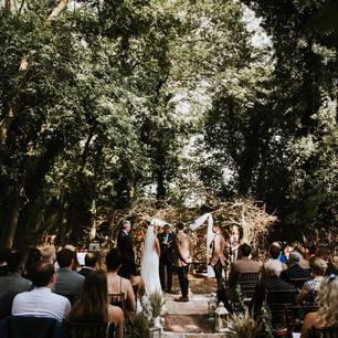 Upthorpe Wood ceremony