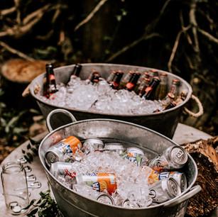 Upthorpe Wood welcome drinks