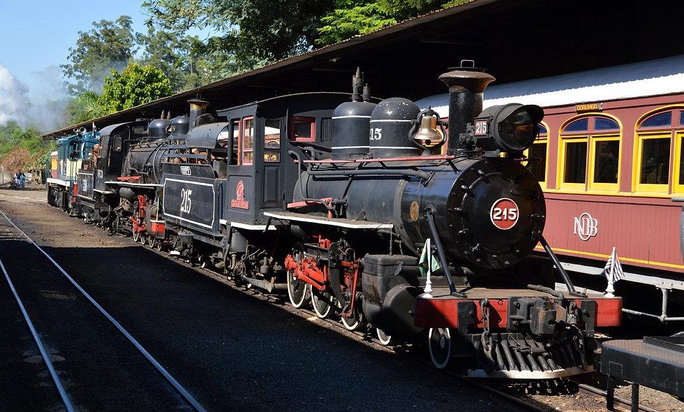 Trem Turístico Campinas - Jaguariúna - Pedreira (Melhor idade)