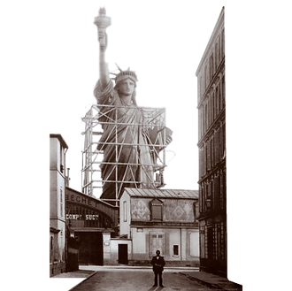 9_The statue mounted in central Paris, in the workshops and Gaget Gauthier(1).png