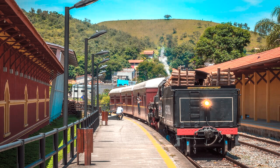 Trem Turístico Guararema - Melhor idade