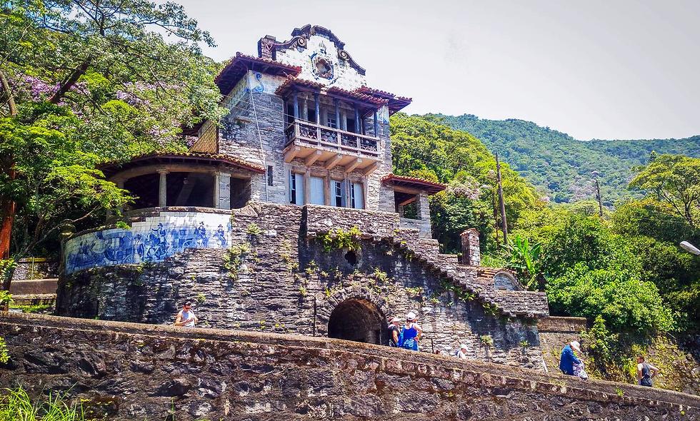 Descida Caminhos do Mar - Centro Histórico de Santos