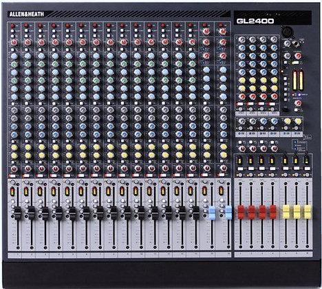 Allen & Heath GL-2400 16 Channel Mixer