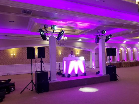 DJ Lighting Sound Activated Truss