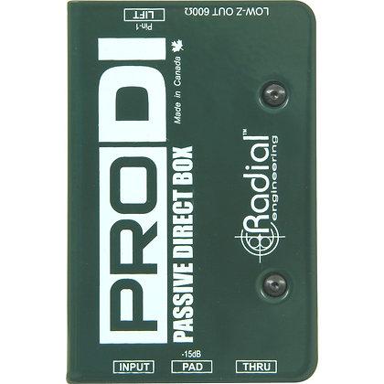 Radial Direct box
