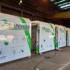 Disinfectant/Sanitizing Tunnels