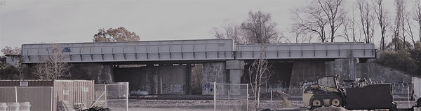 CSX Bridge over Norfolk Southern in Alexandria, VA