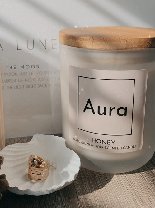 Luxury Wooden Wick Candle
