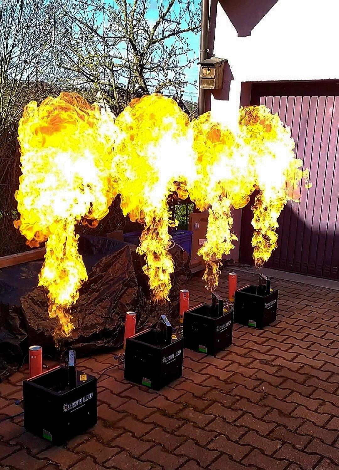 Flamer im Einsatz