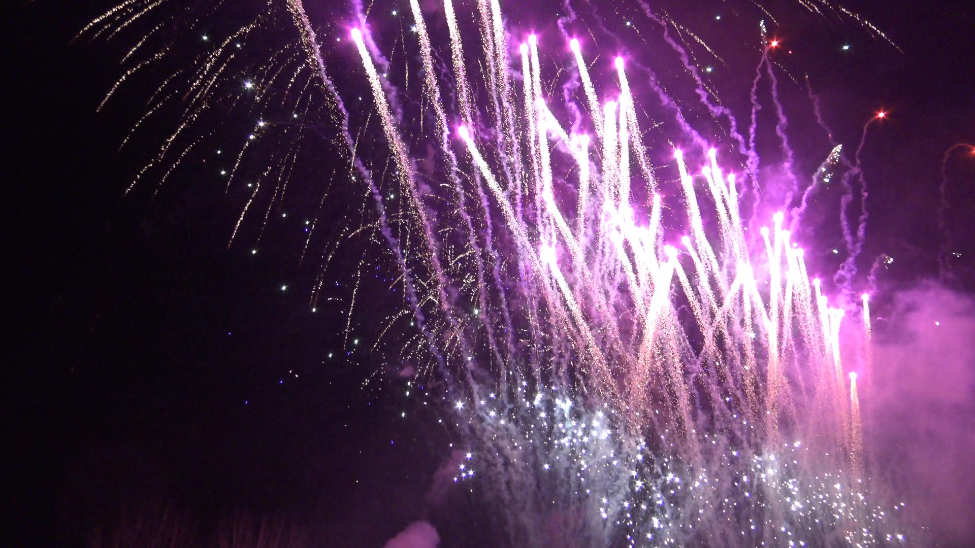 Neujahrsfeuerwerk Oberammagau
