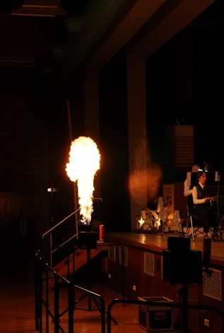 Flamer Indooreinsatz