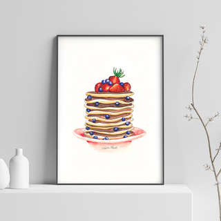Watercolour Food Illustrations