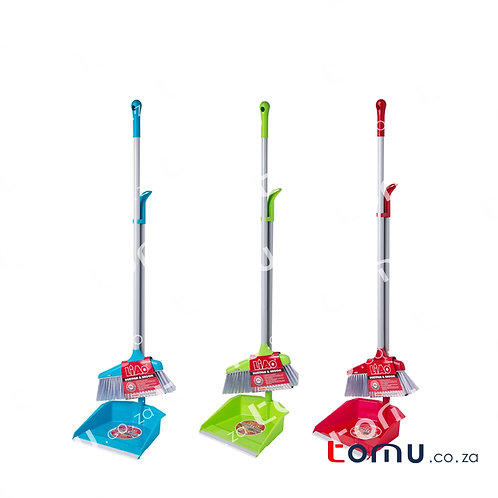 LiAo - 70mm Bristle Sweeping Set (Blue/Green/Red)- LAC130020