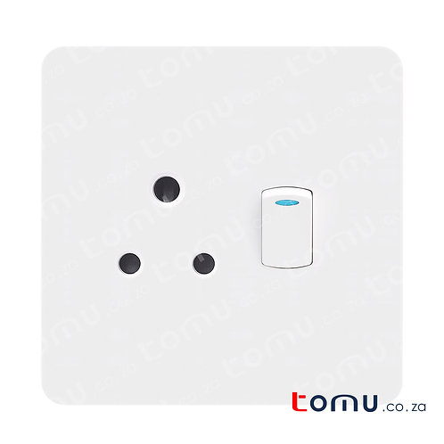 CHINT - Single Switched socket 16A 250V 4X4 - 249448