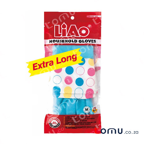 LiAo - Washing Gloves (Long Type in 4 Colours) - 1 pair/pack - LAH130022