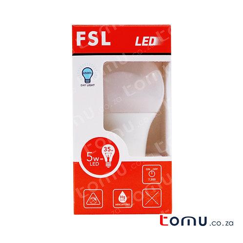 FSL - LED 5W Light Bulb (Neutral White) – E27 – FSLA604