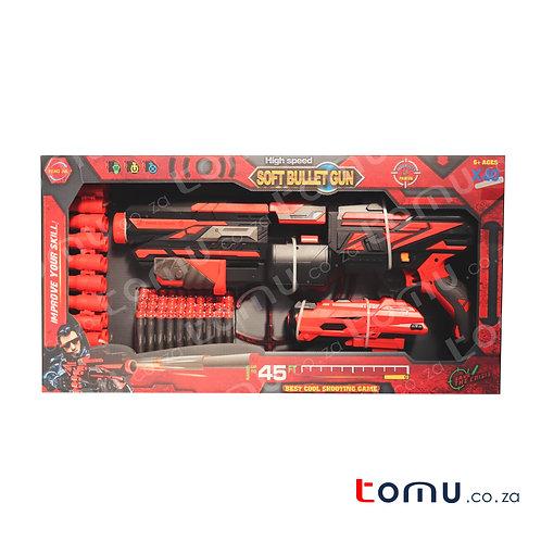 CONDERETOYS – Trailblazer Phantom Soft Bullet Gun – FJ015