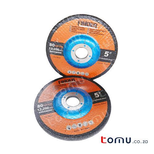 FINDER - (125 x 6 x 22.2mm) Abrasive Grinding Disc for Metal - 195637