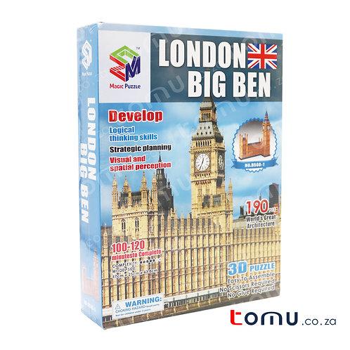 LONDON BIG BEN 3D Puzzle 190 PCS – B568-1
