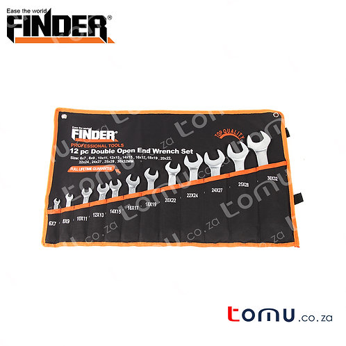 FINDER – 12pcs Combination Wrench Set (6*7 - 30*32) – 192070