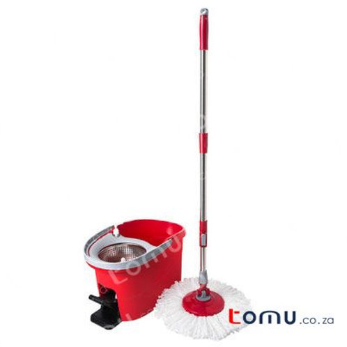 LiAo - Tornado Mop with Pedal (Stainless-Steel Basket) - 6.0L - LAT130026