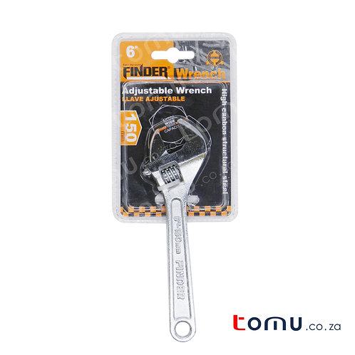 """FINDER Adjustable Wrench (150mm/6"""") - 192015"""