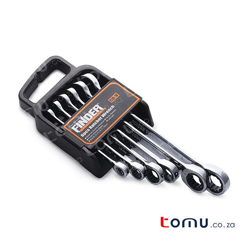 FINDER – 6pcs Ratchet Combination Wrench Set – 192192