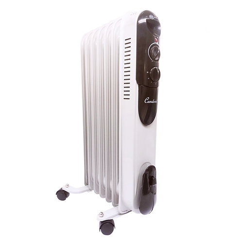 Condere - Oil Filled Radiator Electric Heater (1500W) - ZR-6016
