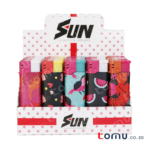 Sun Lighter - 25 per pack Tropic Island - E033HFD
