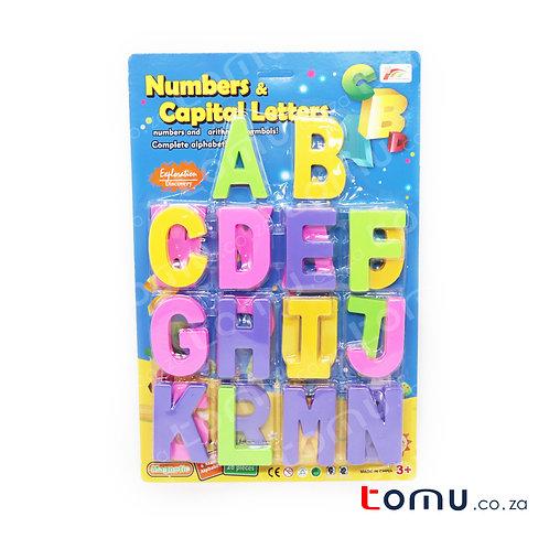 CONDERE TOYS – Capital Letters 26pcs – HC0968