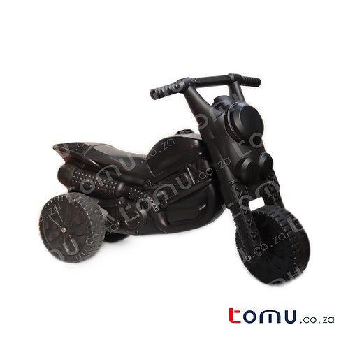 Outdoor Black Motorbike