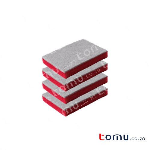 LiAo - Sponge Scourer (11x8x2.5cm) - 8pcs/pack - LAH130026