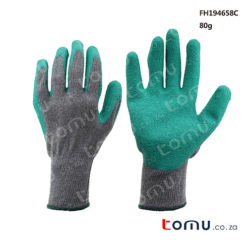 FINDER - Latex coated gloves XL Green - 194658