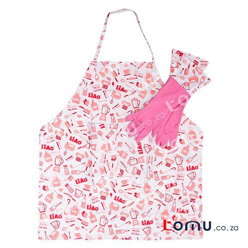 LiAo - Apron & Glove Set (Apron: 72x36cm; Glove: 19x8.5cm) - LAH130025