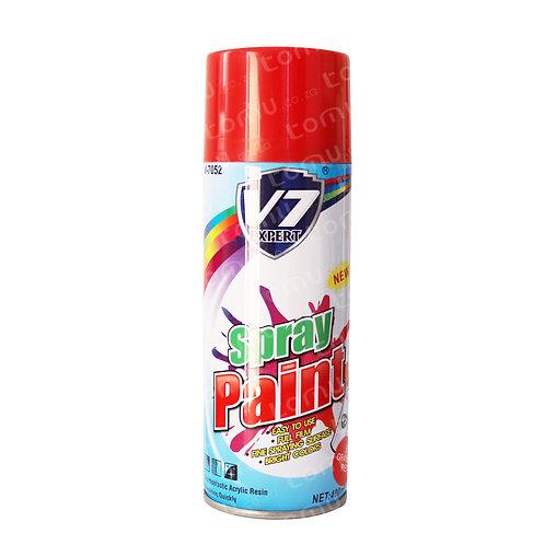 V7 – 400ml Spray Paint - Orange Red – V7052-6
