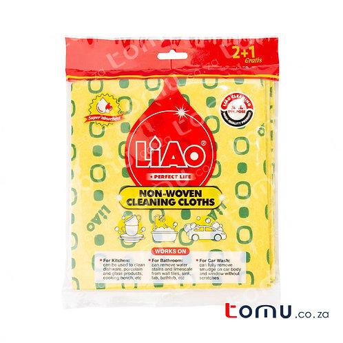 LiAo - Non-woven Cloths (38X40cm) - 3pcs/pack -  LAG130072