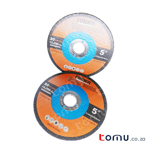 FINDER - (125 x 3 x 22.2mm) Abrasive Cutting Disc for Stainless - 196242