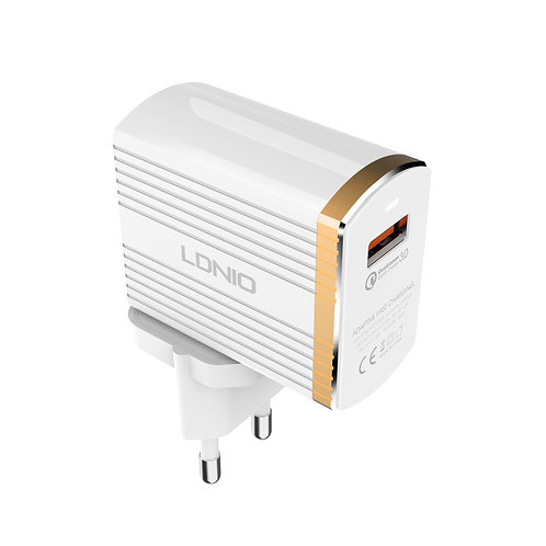 LDNIO Intelligent Fast Charger (EU Plug) - A1302Q