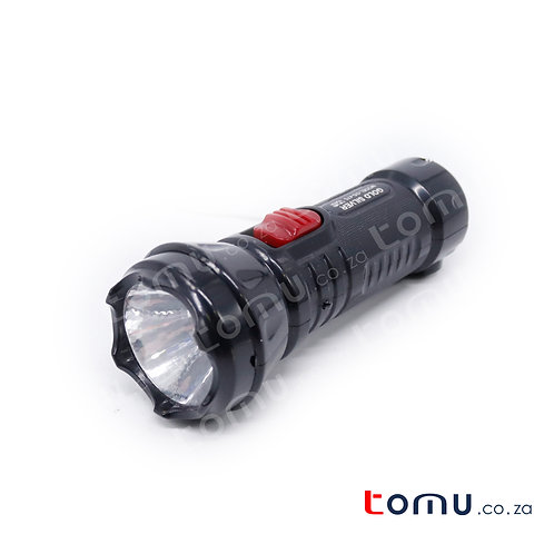 Gold Silver 1W LED Torch – GS-475