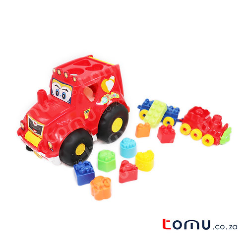 Baby Development Shapes Puzzle Truck – 1232B