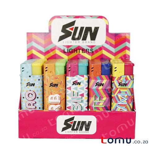 Sun Lighter - 25 per pack YOLO lingo - E033YGS