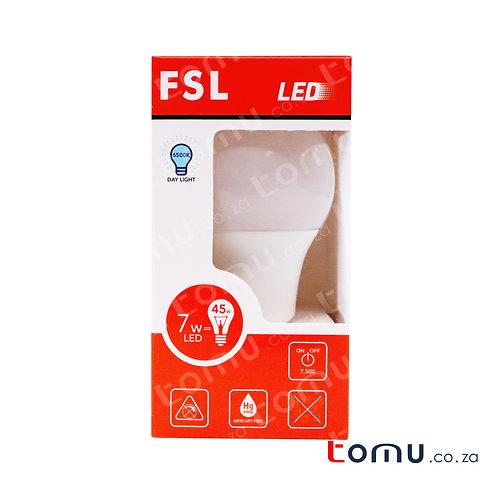 FSL - LED 7W Light Bulb (Neutral White) – E27 – FSLA604