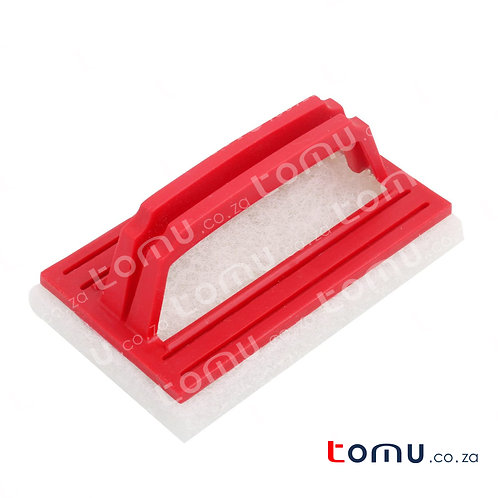 LiAo - Bath Scouring Pad (15X9cm) -  Black or White Random Selected - LAH130014