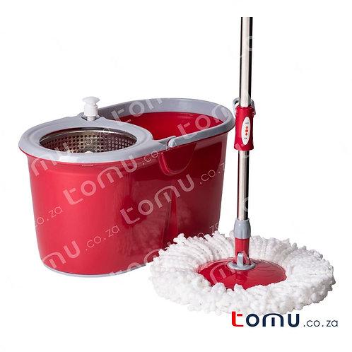 LiAo - Tornado Mop (Stainless-Steel Basket) - 7.5L - LAT130014