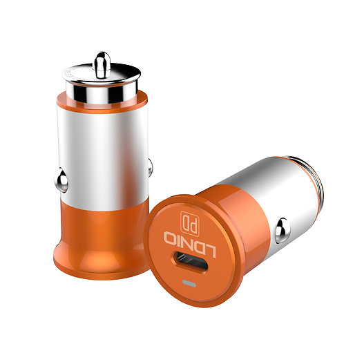 LDNIO Smart Car Charger (PD – Type C to Type C) – C61C