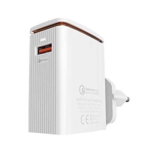 LDNIO Fast Charger with Single USB Port – EU PLUG – A1301Q