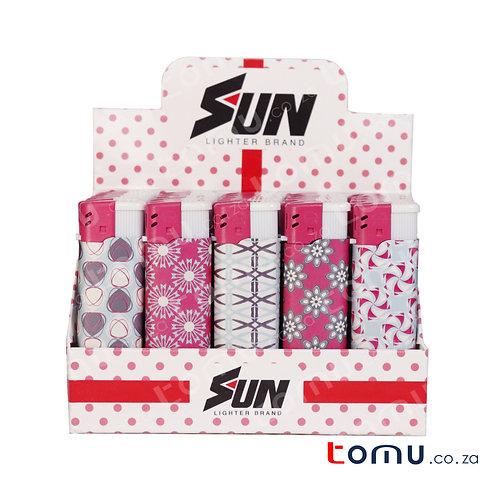 Sun Lighter - 25 per pack White Blossom - E033HFB