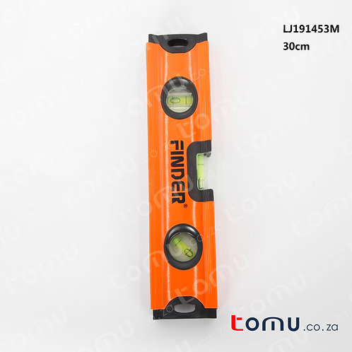 FINDER – 30cm Box Levels with Rubber Hand Grips – 191453